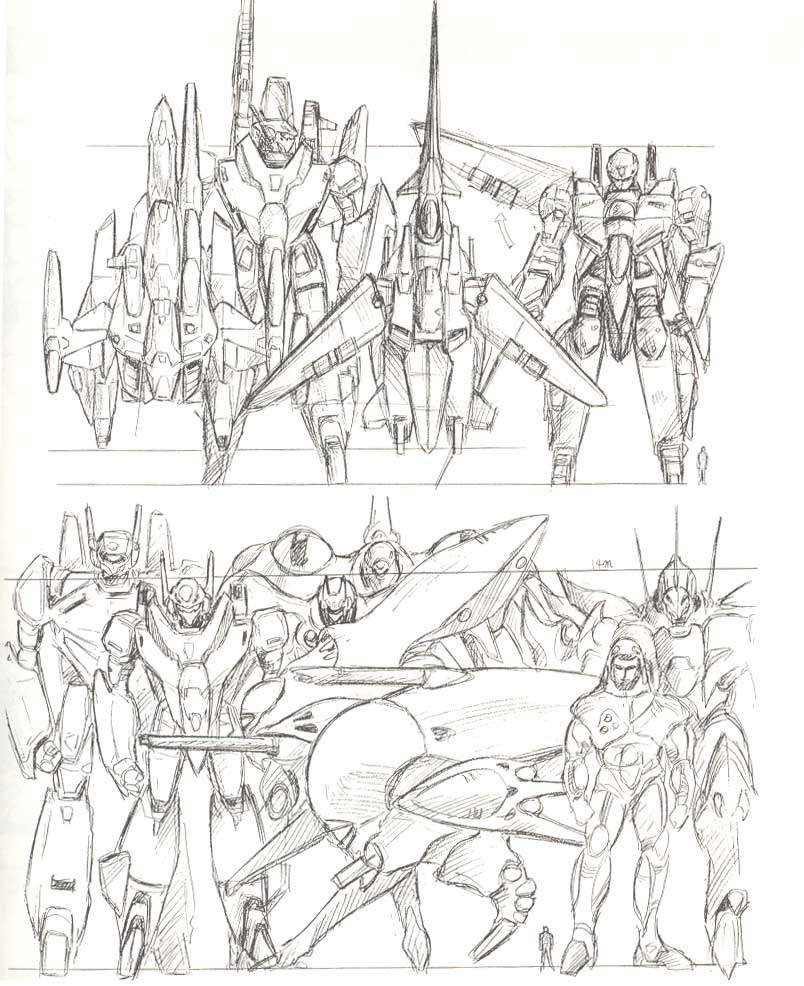 robotech coloring pages